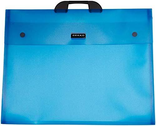 Dekko A2 Electric Blue File, 19 by 25-Inch
