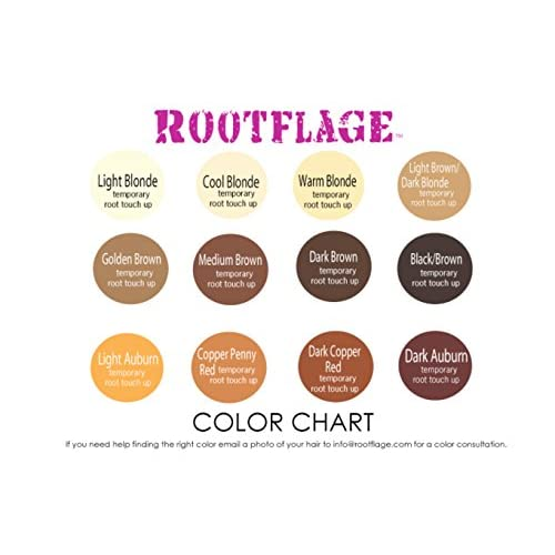 Rootflage Temporary Root Touch Up Refill 35 Oz Cool Blonde On
