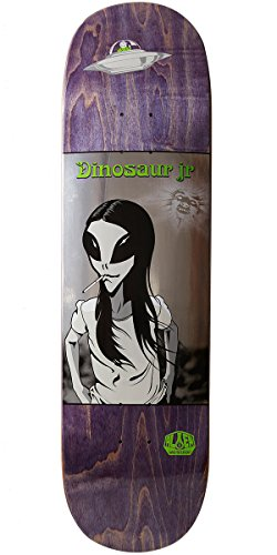 Alien Workshop Dinosaur (Alien Workshop Dinosaur Jr Green Dream Skateboard Deck - 8.5