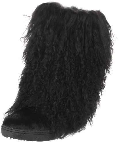 BEARPAW Women's Black Boetis II 11 B(M) US