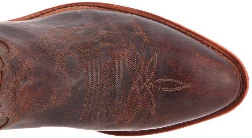 Tony Lama Boots Mens 6978 Boot Chocolate Saigets Worn Goat 1ClHKq