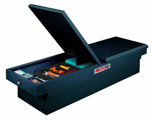 JOBOX PSC1461002 Black Steel Gull Wing Fullsize Deep Crossover Truck Box (Box Gull Storage Crossover Wing)