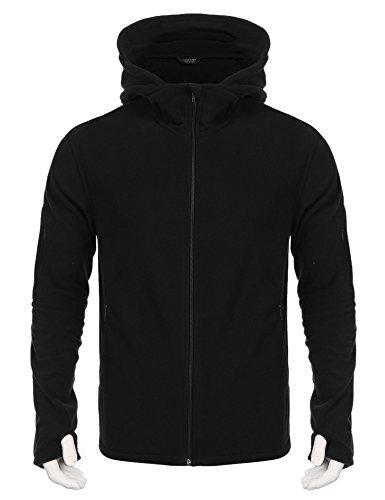 Hooded Fleece Coat - 4