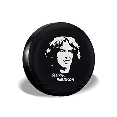 NEWZJCAP Spare Tire Cover Waterproof Dust-Proof Universal Spare Wheel Tire Cover George Harrison Logo 17 Inch ()
