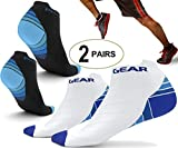 Best ASICS Socks - 2 Pairs Physix Gear Compression Socks for Men Review