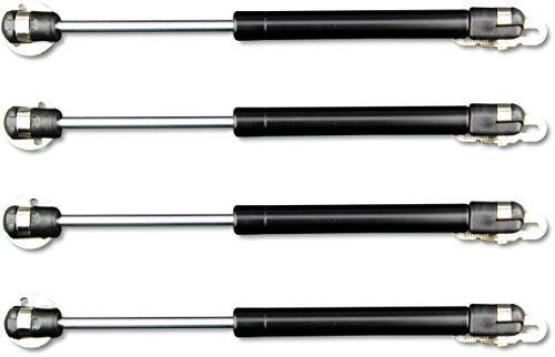 Apexstone 100N/22.5lb Gas Strut,Gas Spring,Lid Support,Lift Support,Lid Stay,Gas Props/Shocks,Set of 4]()