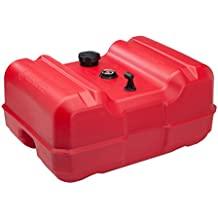 Attwood 8812LLPG2 Epa Certified Low-Profile Portable Fuel Tank with Gauge 12 gallon