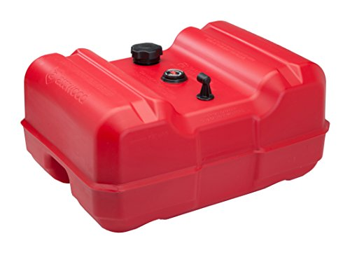 attwood 8812LLPG2 Epa Certified Low-Profile Portable Fuel Tank with Gauge 12 gallon by attwood
