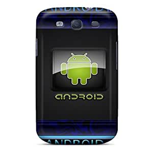Galaxy S3 Case Cover - Slim Fit Tpu Protector Shock Absorbent Case (android)