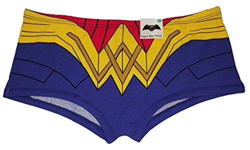 DC Comics Wonder Woman Costume Boyshort Panties - X-Large
