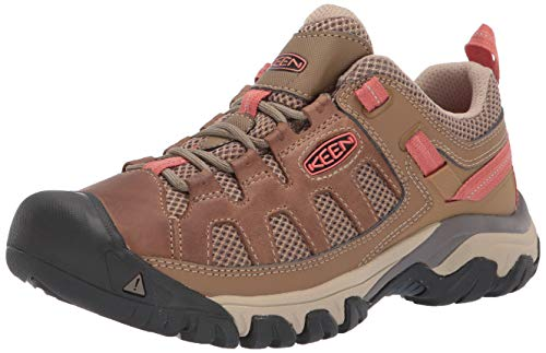 KEEN Women's Targhee Vent Hiking Shoe, Sandy/Cornstalk, 8 M ()