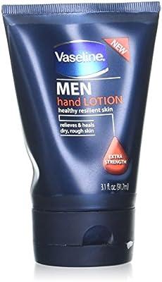 Vaseline for Men Hand Lotion, Extra Strength, 3.1 oz