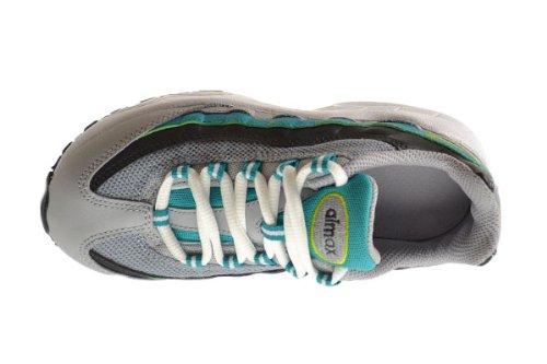 Nike Air Max 95 (ps) Scarpe Per Bambini Piccoli Lupo Grigio / Veleno Verde-turbo Verde-antracite 311524-052