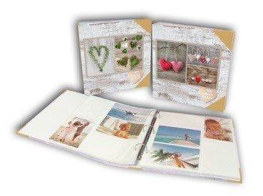 album photo Classeur coeur suspendu 400 pochettes 10x15 cm