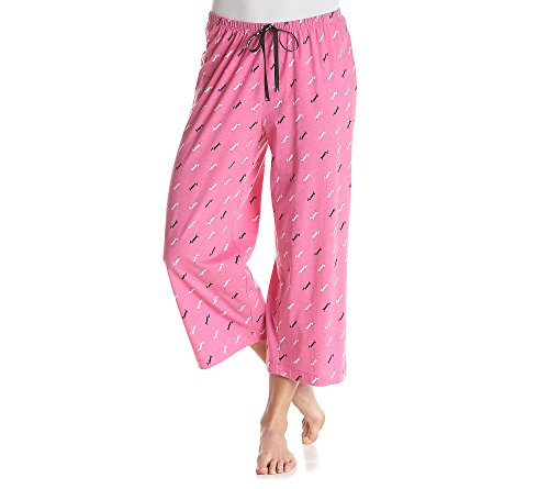 HUE Doggini Capri Pajama Pants X-Large