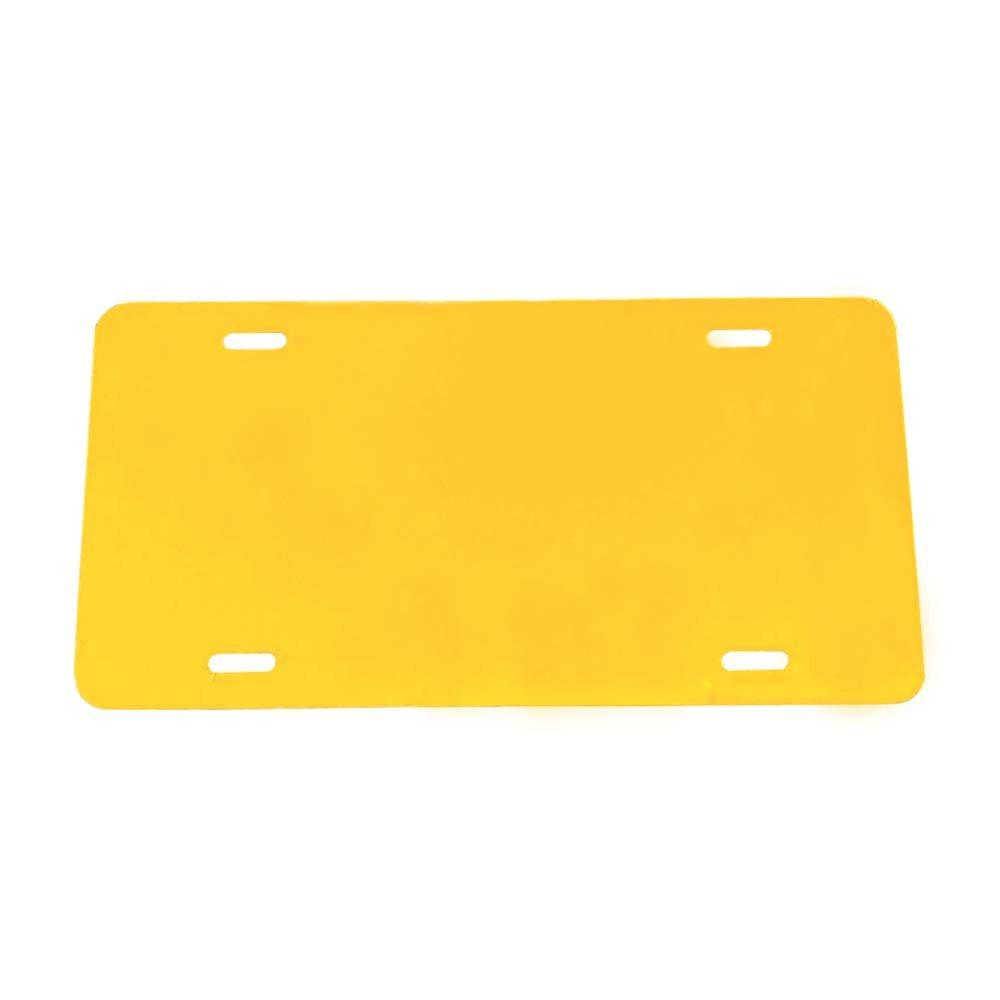 Plus Ultra Black Plastic License Plate Frame My Hero Academia