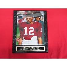 Joe Namath Paul Bear Bryant Alabama VINTAGE Collector Plaque w/8x10 COLOR Photo