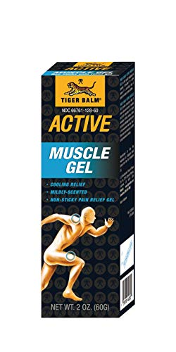 (Tiger Balm Active Muscle Gel, 2oz/60g (1))