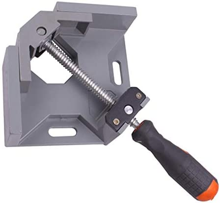Aluminum Single Handle 90 Degree Right Angle Clamp Angle Clamp Woodworking Frame Clip Right Angle Folder Tool Wood Working Tools