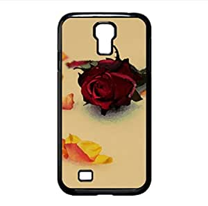 Roses in Snow Watercolor style Cover Samsung Galaxy S4 I9500 Case (Winter Watercolor style Cover Samsung Galaxy S4 I9500 Case)