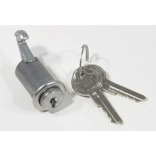Eckler's Premier Quality Products 55195089 El Camino Glove Box Lock - Box Glove El Camino