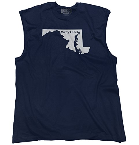 Maryland State Shirt State Pride USA T Novelty Gift Ideas Sleeveless Tee (Party City Baltimore Md)