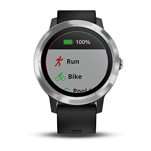 Garmin vivoactive 3 (Black/Stainless) Power Bundle with HD Glass Screen Protectors (x2), PlayBetter USB Wall & Car Charging Adapters | Multisport GPS Smartwatch, Touchscreen, On-Wrist HR, Garmin Pay by PlayBetter (Image #5)