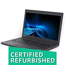 (Certified REFURBISHED) Lenovo Ultrabook T440-8 GB-240 GB 14-inch Laptop (3rd Gen Core i5/8GB//Windows 10/Integrated Graphics), Black