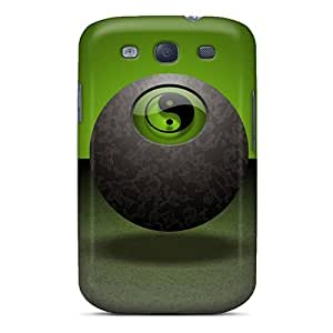 Fashionable Style Case Cover Skin For Galaxy S3- Yingyang 5 by lolosakes