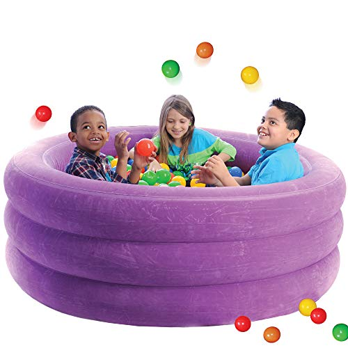 Fun and Function's Air-Lite Ball Pit, Inflatable, for Kids with Sensory - Ball Fun Giant