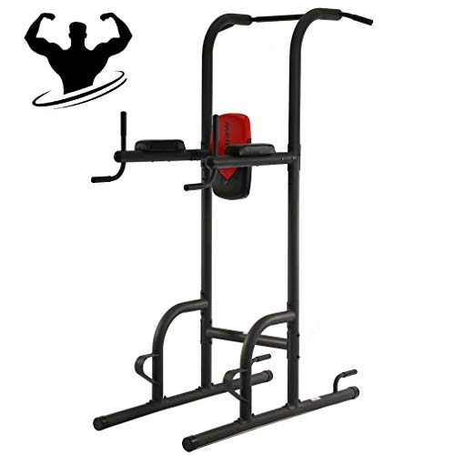 BestMassage Power Tower Exercise Equipment Durable Adjustable Multi-Fucdy Power Tower w/Dip Station...