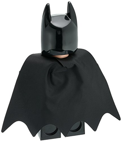 | LEGO Batman Movie 9009327 Batman Kids Minifigure Alarm Clock | black/yelow | plastic | 9.5 inches tall | LCD display | boy girl | official