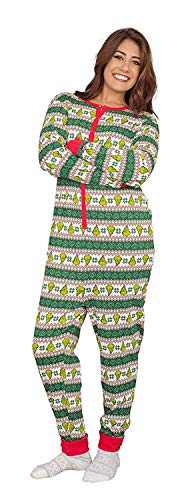 Grinch Family Faces Christmas Green and White Pajama, used for sale  Delivered anywhere in USA