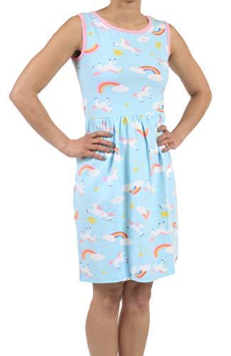 Littletude Blue Unicorn Rainbow ABDL Dress - XL