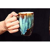 Green Elves mug, Fantasy green mug, Flowing green mug, Ready to ship, ceramic mug, coffee mug pottery, Custom mugs, personalized gift