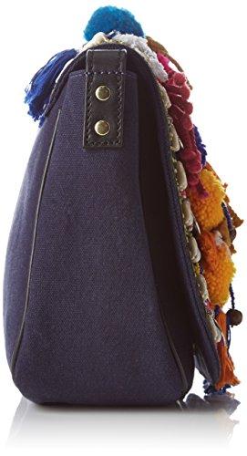 Antik Batik femme Koshi Sac  porté  épaule Multicolore (Multico)