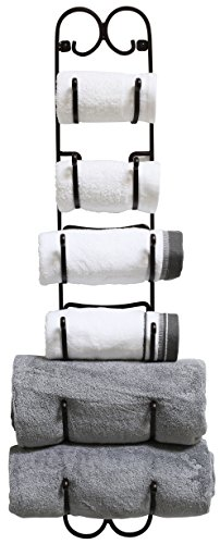 DecoBros Wall Mount Multi-Purpose Towel/Wine/Hat Rack, -