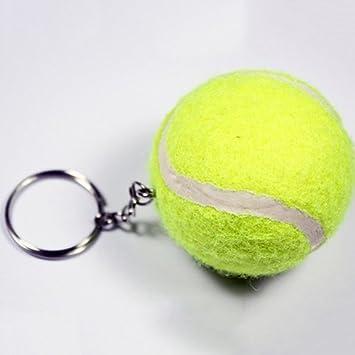 osmanthusFrag Porte-cl/é de Sport 3D en Forme de Balle de Tennis