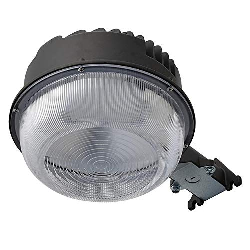 LEDwholesalers 70W LED Dusk-to-Dawn Area and Wall Security Light with Photo Control, ETL-Listed, Daylight 5000K, 3913WH
