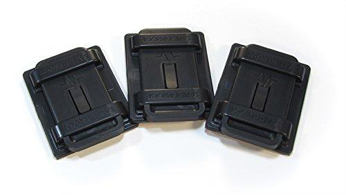 Safe-T-Proof STP-MP-203-20-00-BL Bulk 5'' x 6'' Fasteners (Pack of 20), Black by Safe-T-Proof