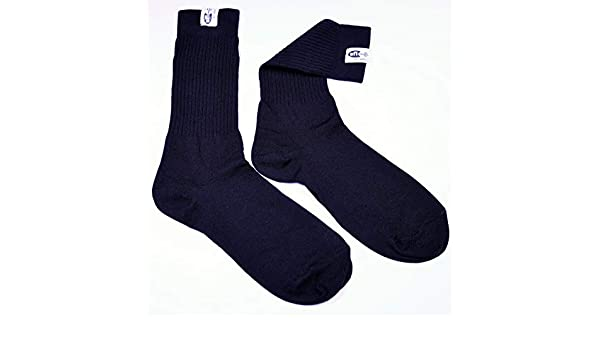 Racequip 411995 Sfi 3.3 Fire Retardant Socks Large Black