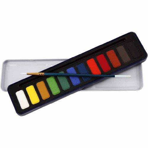 (Watercolor Paint Set, 12)