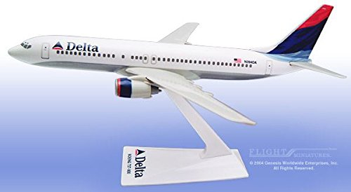 BO-73780H-023 Flight Miniatures Boeing 737-800 Delta Scale 1:200 Model Airplane
