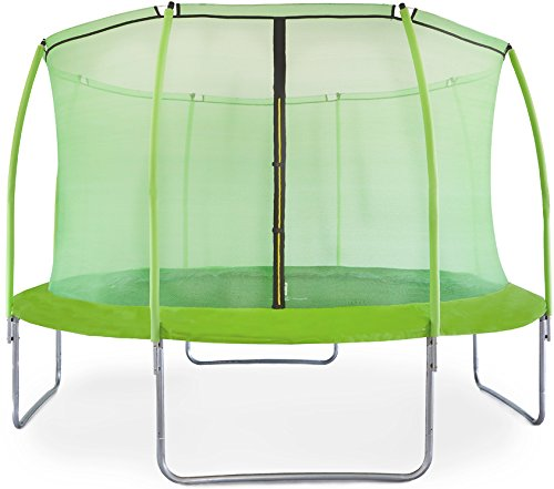 AGA SPORT FIT Gartentrampolin 366cm-12ft, Trampolin, Kindertrampolin - Light Grün