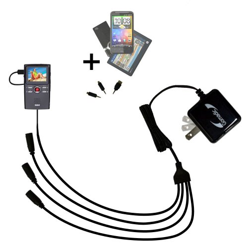 Quad 4-port wall charger with included tip for the for sale  Delivered anywhere in USA