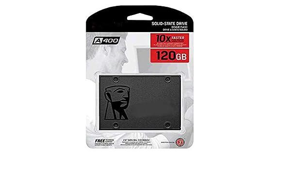 SSO) Disco Duro 2.5 SSD Kingston 120GB SSDNOW SATA3 SA400: Amazon ...