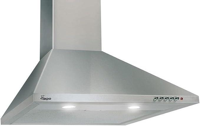 akpo WK de 4 Classic Eco 50 campanas abzugs de/Campana extractora Campana/pared/Iluminación halógena/Inox/50 cm: Amazon.es: Grandes electrodomésticos