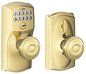Schlage Fe595 Cam 505 Geo Camelot Keypad Entry With Flex