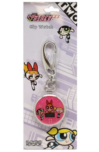 Powerpuff Girls Clip Watch - Powerpuff Girls keychain Watch