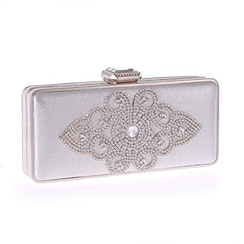 GSYDXKB Abend Party Tasche Cocktail Party Perle Tasche Bag Female Evening Party Bag Clutch Bag Diamond Package Womens Craft Bag
